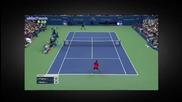 Rafael Nadal vs Fabio Fognini - Us Open 2015 R3