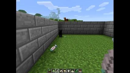 Minecraft-как да си опитомим костенурка и коте
