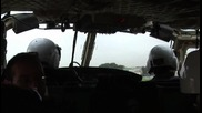 Вулканът Везувий - гледка от хеликоптер