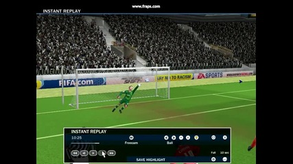 Fifa 10 - Не лош гол на Роберт Корен