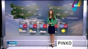 Прогноза за времето (13.04.2015 - сутрешна)