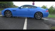 Jaguar Xkr S и 2014 Jaguar F Type S V8