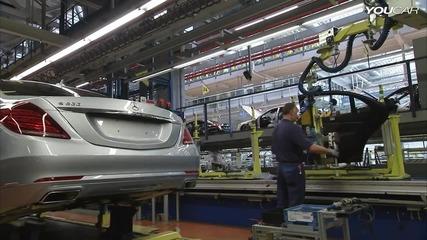 2014 Mercedes S-class Production