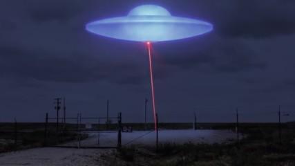 НЛО следи военния напредък на човечеството