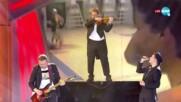Музикално изпълнение посветено на българските спортни герои - Забраненото шоу на Рачков (11.04.2021)