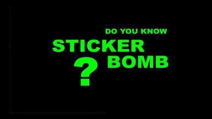 Sticker Bomb Tuning (тунинг с лепенки)