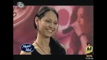 Music Idol 3 Секси Бомбата Флиртува Със Журито Веселина Попова
