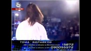 Music Idol 2 Rock Koncert / Toмa - Crying in the rain