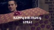 Happy Birthday, Lora!