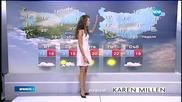 Прогноза за времето (14.04.2015 - обедна)