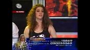 Изпълнението на Пламена,с което се опитва да се спаси от отпадане в Music Idol 02.04.2008 *HQ*