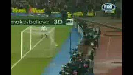 Spartak Moskow - Chelsea goal Juri Zhirkov