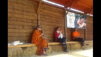 Вандана Шива, Международен Фестивал Пелити 2015г.