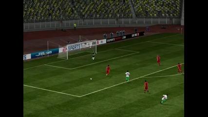 Страхотен Гол На Валери Божинов (bulgaria-romania) Fifa 11