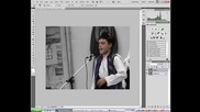 Photoshop - Черно бяло и цветно
