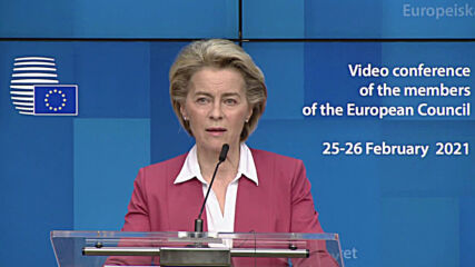 Belgium: EU 'confident' will reach 70 percent vaccination target by end of summer - Von der Leyen