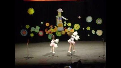 Вики и Ани - танц