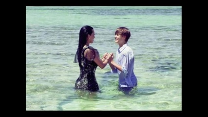 Justin Bieber & Kim Kardashian - Elle Photoshoot
