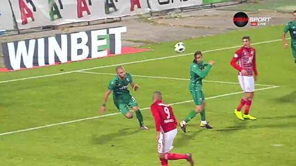 Мауридес с втори гол във вратата на Витоша