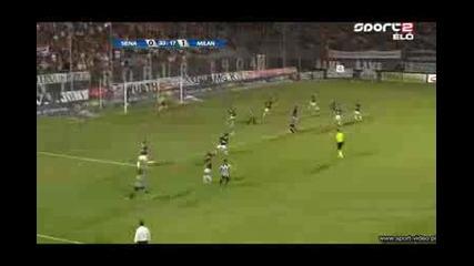 Milan vs siena 22 август 2009