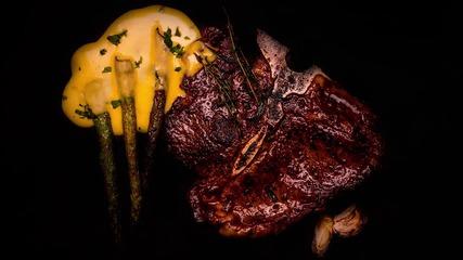 """Goodlife: Т-бон стек със сос """"Беарнез"""" и аспержи"""