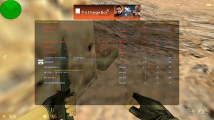1vs4 de_dust2 + Defuse