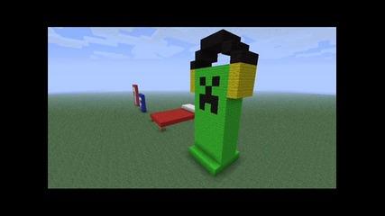 Моите pixel arts на minecraft