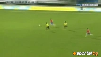 Чили - Колумбия 2 - 0