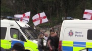 UK: Clashes and arrests as activists disrupt far-right march in Dover
