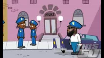 Анимация : 50 Cent Vs. Rick Ross 4 Супер Яко !!!