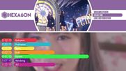 Dreamcatcher - Chase Me Line Distribution Color Coded