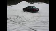 Audi 80 b4 quattro drift