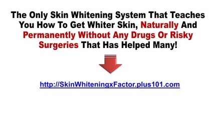 Natural Way To Whiten Skin