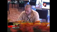 Стоян разговаря с барманките за живота си и своята работа - Big Brother Family [09.04.2010]