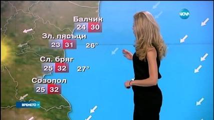 Прогноза за времето (07.08.2015 - централна)
