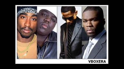 *примиера Vbox7* Tupac, Notorious B.i.g. & Fabolous Ft. 50 cent - Grew Up A Screw Up