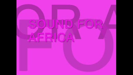 Sound For Africa