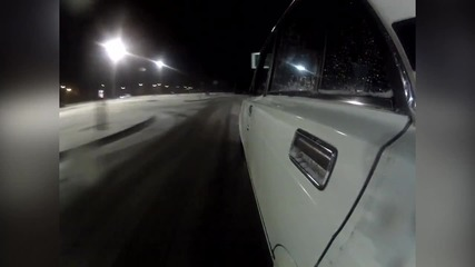 Lada 2107 drift movie