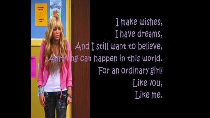 Miley Cyrus foevar