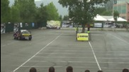 Ива Русинова - дрифт на паркинга на Интер Експо Център