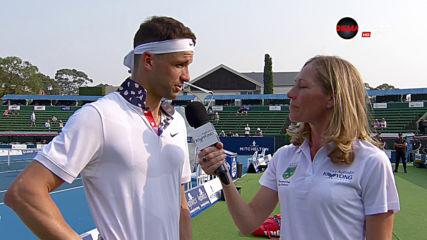 Гришо призна, че не победата над Федерер е най-добрият му мач за 2019-а