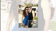 Нина и Иън се целуват пред всички на фестивала Coachella 2012