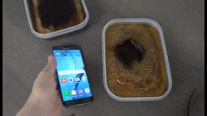 Iphone 6 и Samsung Galaxy S7 срещу Кока кола и замразяване