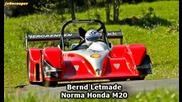 Norma Honda M20 Cn20 - Bernd Letmade - Hauenstein Bergrennen 2012 - Onboard -