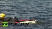 Russia: UK adventurer attempts to kayak along 2,300 mile Volga river