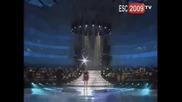 Албания Eurovision 2009 Kejsi Tola - Me merr ne enderr (albania)