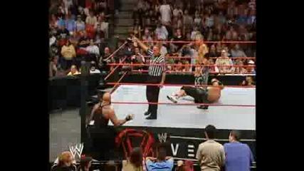 Vengeance 2005 - Jericho vs Christian vs Cena