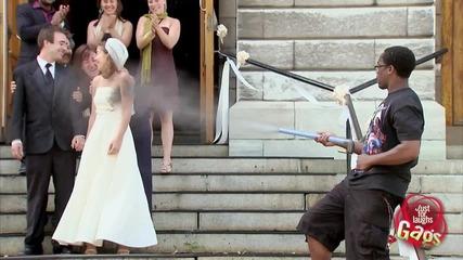 Скрита камера- Сватбенно тържество