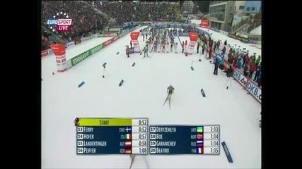 Емил Хегле Свендсен с трета титла на Световното по биатлон, Красимир Анев е 19-и