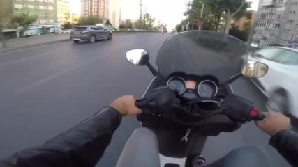 Размяна на мотори на светофар!